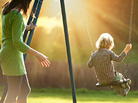 child adopted swing 200x150 Adopted Kids' Drug Abuse Risk Affected by Biological Family