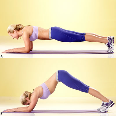 how to do a set of planks