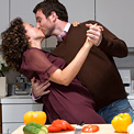 man-woman-food-love