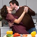 man-woman-food-love