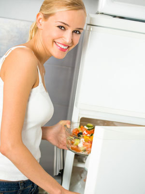 fridge-woman