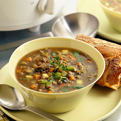 Gingery Lentil Soup - 12 Healthy Soup Recipes - Health.com
