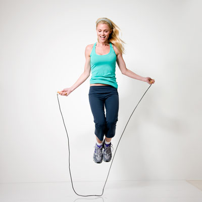 Jumping rope - How to Burn Calories at Home - Health.com