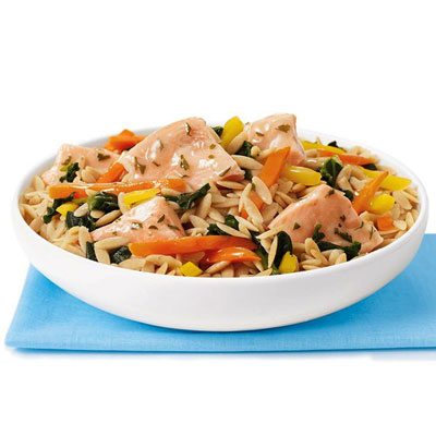 Lean cuisine salmon with basil entr e the 7 day healthy for Are lean cuisine healthy