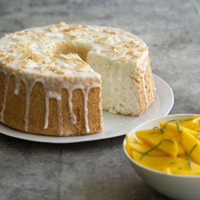 Lime-Glazed Angel Food Cake - Easy Ways to Add a Splash of Citrus ...