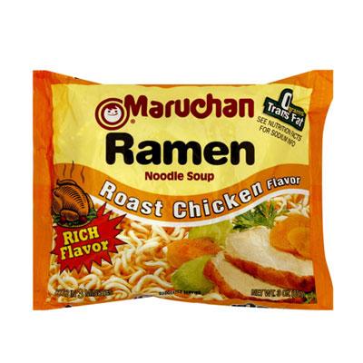 Maruchan Ramen Noodle Soup, Roast Chicken Flavor - 25 Surprisingly ...