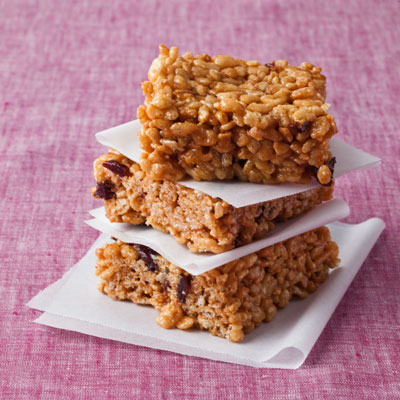 Peanut Butter Crispy Rice Treats - Healthy Peanut Butter Cookies and ...