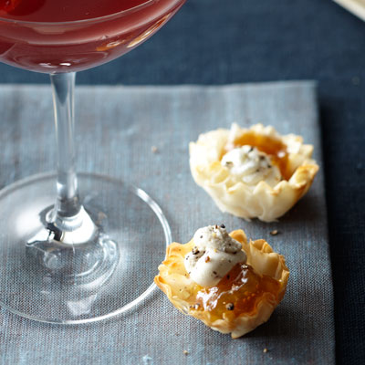 Phyllo Shells and Fig Jam - Quick and Easy Party Appetizers - Health ...
