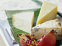 pomegranate-cheese
