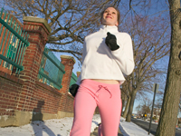 run pink sweats 200x150 5 Ways to Stick With Your Winter Workouts