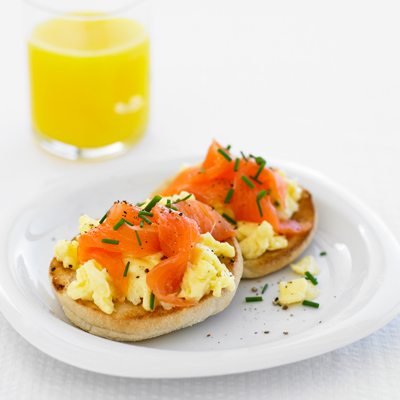 salmon-bread-egg