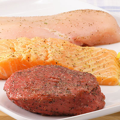 Fish Meat on Meat And Fish   How To Grocery Shop On A Diet   Health Com