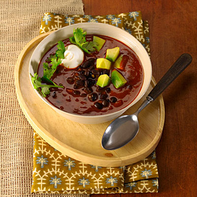Spicy Southwestern Black Bean Chili - 31 Quick-and-Easy ...