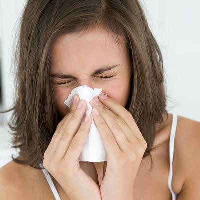 Чихаю и заложен нос при беременности