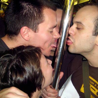 licking-subway-pole