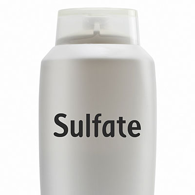 Stay away from sulfates