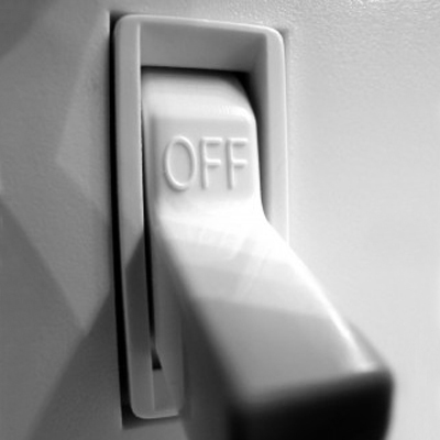 Turn off lights when you leave a room or workarea - Image courtesy of http://img2.timeinc.net/health/images/slides/switch-off-400x400.jpg