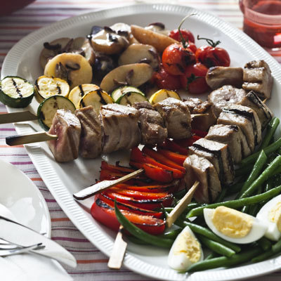 Tuna Nicoise Kebabs - 5 Healthy Fish Recipes - Health.com