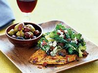 wilted-escarole-salad