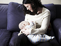 woman-breast-feeding
