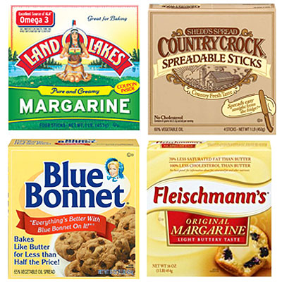 blue bonnet margarine ingredients