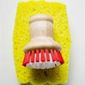 yellow-sponge-scrub-brush