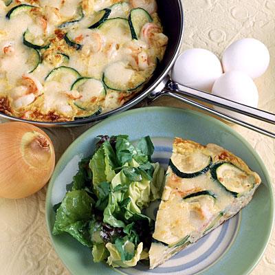 Spicy Zucchini Frittata Recipe — Dishmaps