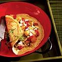 artichoke-cheese-omelet