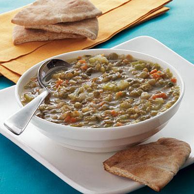 lentil-soup-toasted-pita