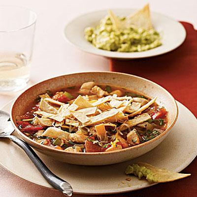 Mexican Tortilla Soup - Healthier Mexican Food Recipes - Health.com