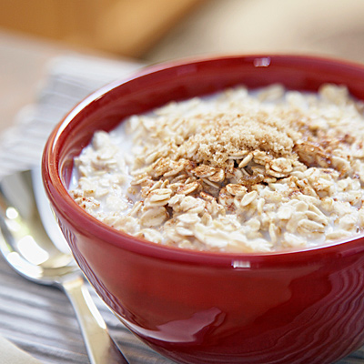 A bowl of oatmeal a day keeps the cholesterol at bay?