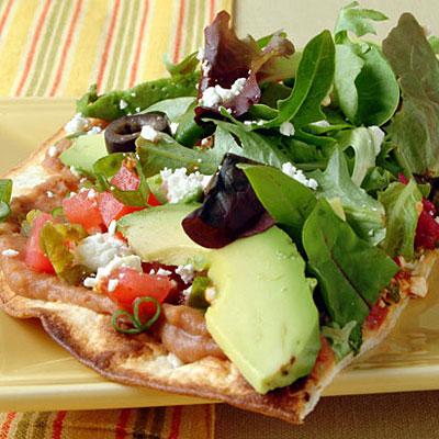 Veggie Tostadas Healthier Mexican Food Recipes Health Com