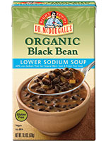 black bean soup sodium 150x200 Foodie Friday: Dr. McDougalls Lower Sodium Soups