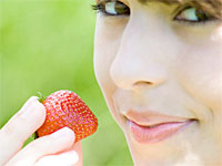 strawberry-look