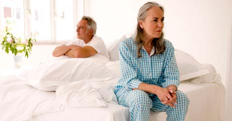 senior woman sex pain 462x242 Painful Sex After Menopause? When Hormones Aren&#039;t an Option, Some Women Consider Surgery