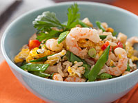 shrimp fried rice 200x150 Healthy Cooking on the Cheap: Leftover Makeovers