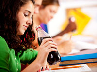 soda teen school 200x150 CDC: Most High School Students Don&#039;t Exercise Enough