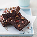 Triple Chocolate Surprise Brownies