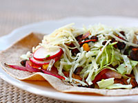 vegetable soft tacos 200x150 Healthy Cooking on the Cheap: Lightened Up Comfort Food With a Vegetarian Spin