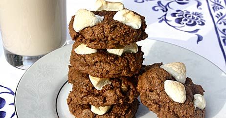 whole msississippi mud cookies 462x242 Recipe Makeover: Whole Grain Mississippi Mud Cookies
