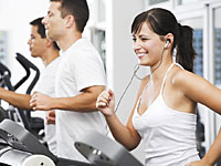 woman running treadmill 200x150 No More Excuses: 4 Ways to Stick to Fall Workouts