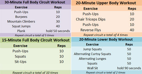 Get Great Results With These At Home Workouts Fitness