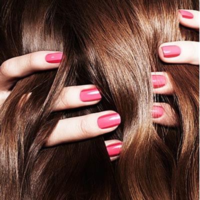 shiny-hair-nails
