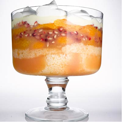 Orange, Almond, & Pomegranate Trifle - Recipes for Holiday Drinks and ...