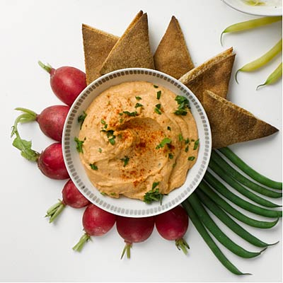Red-Lentil Hummus - 31 Quick-and-Easy Fat-Burning Recipes - Health.com