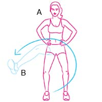 leg workout a 200x200 Sculpt Your Legs Like Heidi Klum With This Simple Workout Move