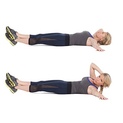 Oblique Crunches Exercise Ab Workouts - F...