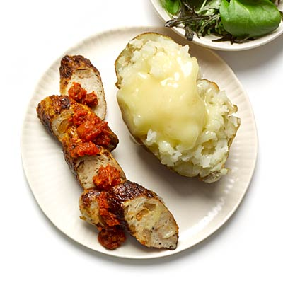 sausage and potato