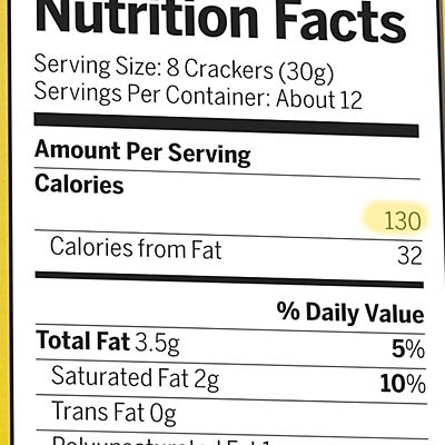food-label-calories