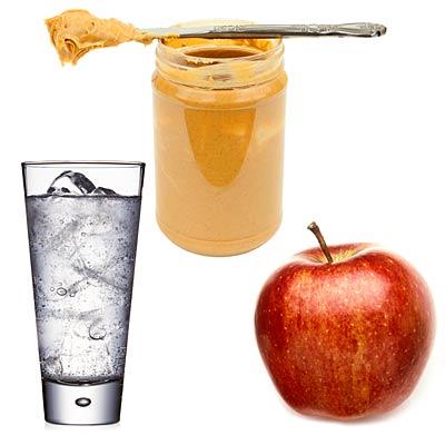 water-apple-peanutbutter